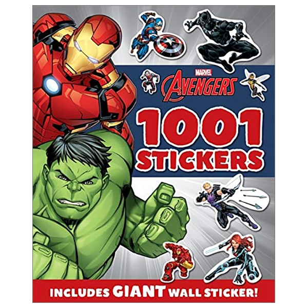 Marvel Avengers : 1001 Stickers (1001 Stickers Marvel)