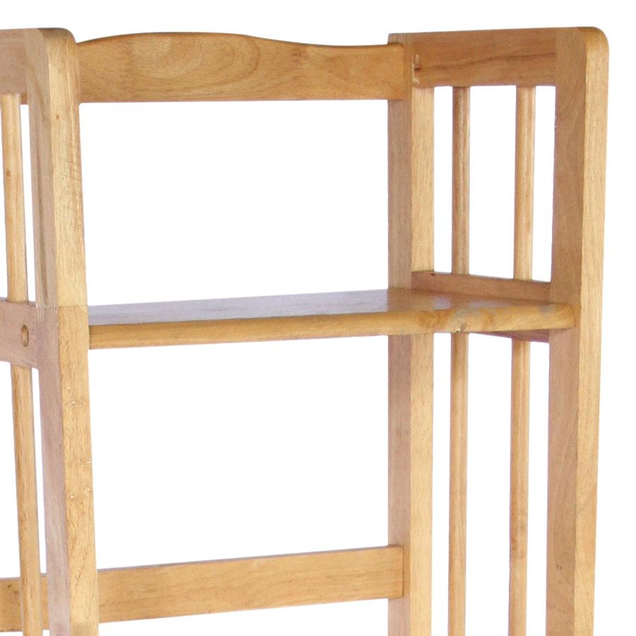 Kệ Sách Đứng 5 Tầng Phương Lâm (28 x 40 x 160 cm) - Màu Tự Nhiên