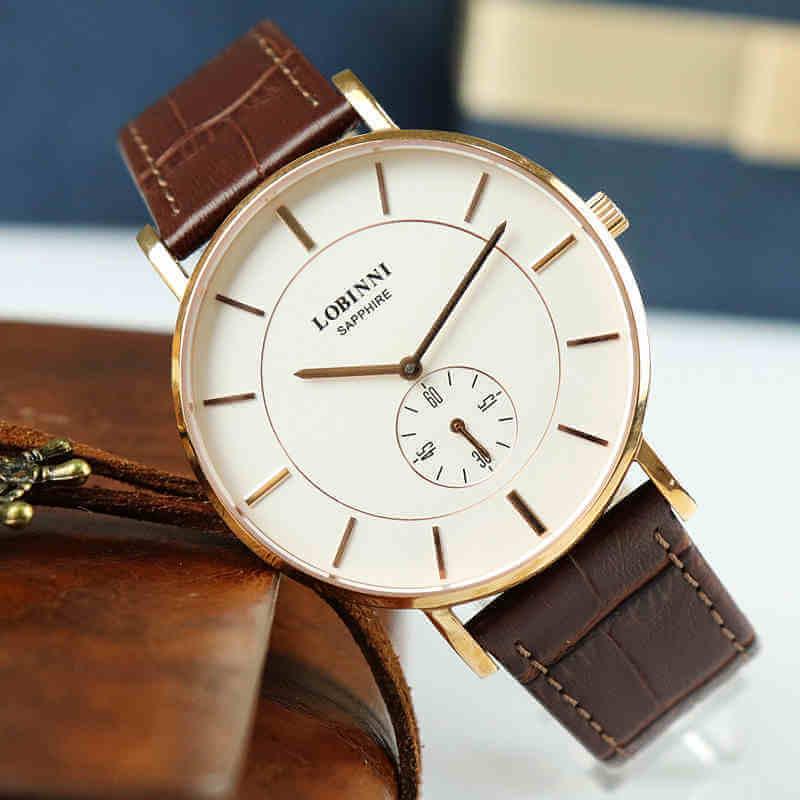 Đồng hồ đôi chính hãng Lobinni No.3001-1