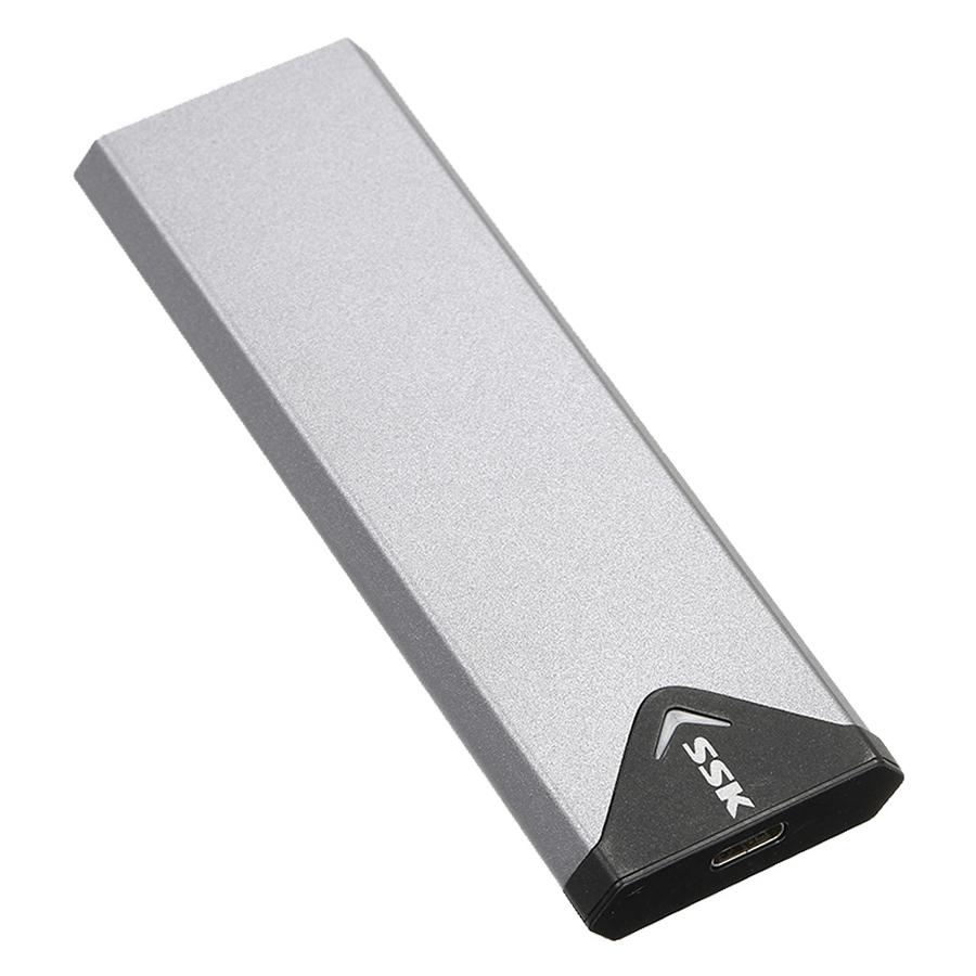 Box Chuyển SSD M2 Sata Sang Ổ Cứng Di Động SSK SHE-C320 Chuẩn 3.0 Hỗ Trợ Đến 5Gbps  - Hàng Nhập Khẩu