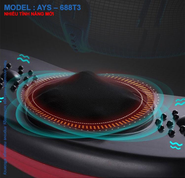 Đai massage thư giãn cho bụng Ayosun AYS-688T3