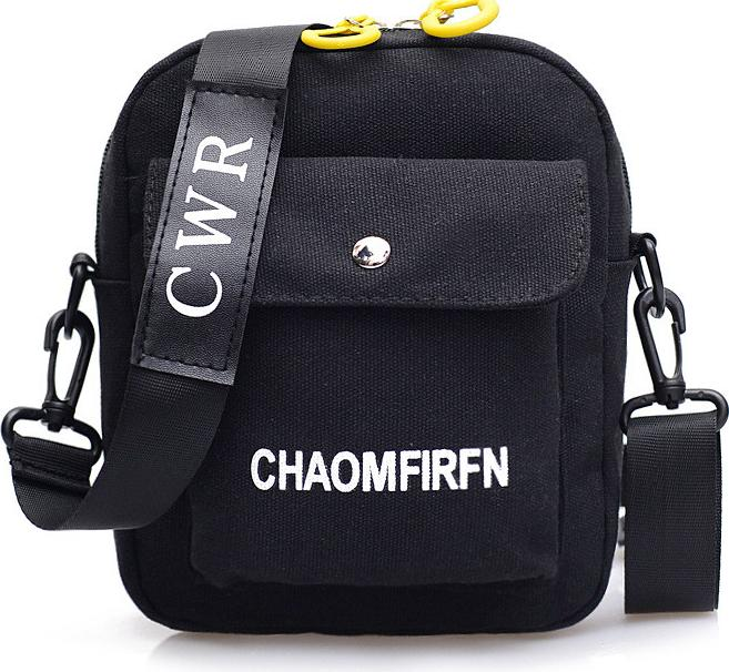 Túi Vải Tote Kore3 Đeo Chéo Siêu Hot Vải Oxford Bền Bỉ - 3 Màu Lựa Chọn - Đen