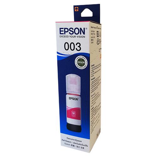 Mực Epson 003 màu đỏ dùng cho máy in L1110, L3116, L5190, L3150, L3110, L3156- Hàng chính hãng