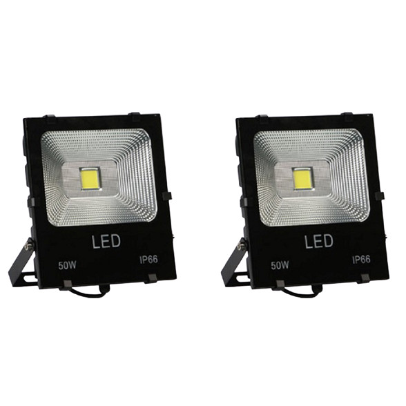 Bộ 2 đèn Led pha COB 50W