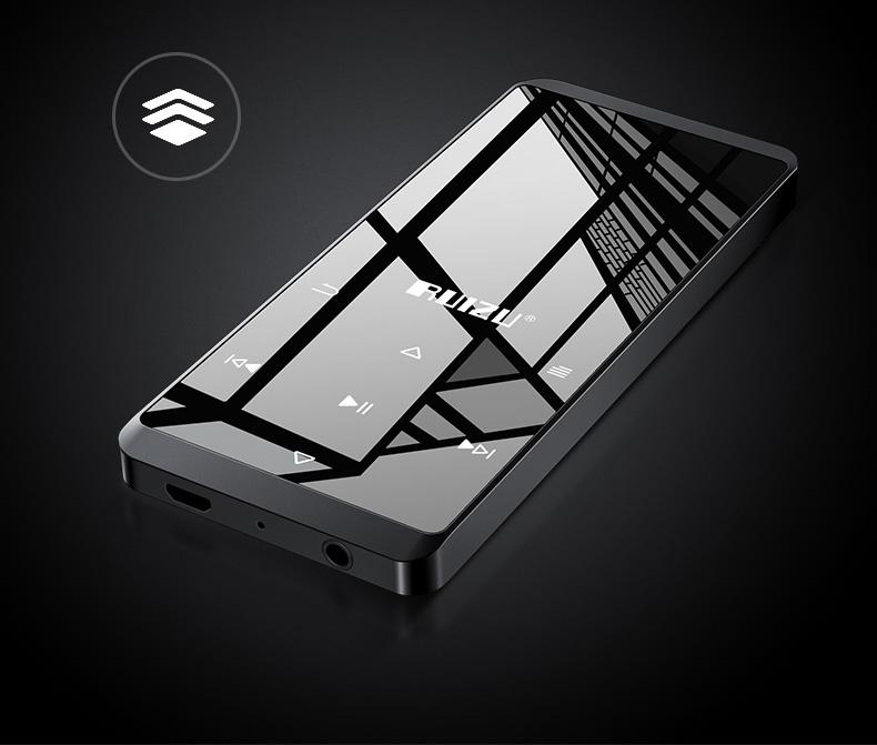 Ruizu D02 - Máy nghe nhạc Lossless (4Gb, Loa ngoài, không Bluetooth) - Hàng Chính Hãng