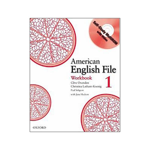 American English File 1 Workbook with MultiROM