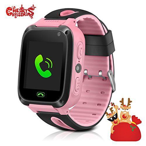 Đồng hồ định vị trẻ em Q528 cảm ứng - Màu Hồng