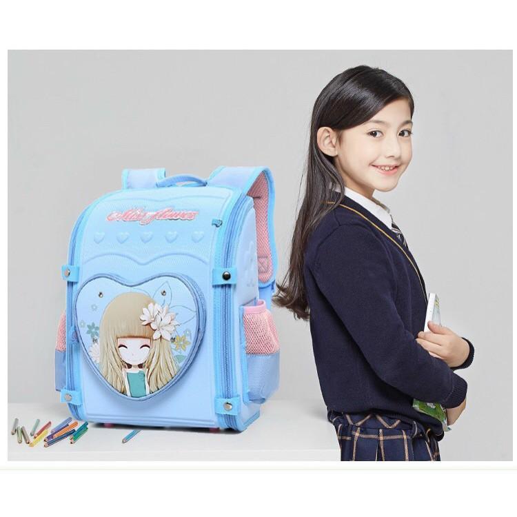 Balo chống gù cao cấp , Ba lô chống gù siêu xịn, đủ màu, hình cho các bé tiểu học, balo chống gù học sinh cấp 1.