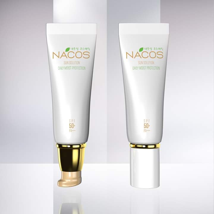 Kem chống nắng Nacos Sun Solution Daily Moist Protection