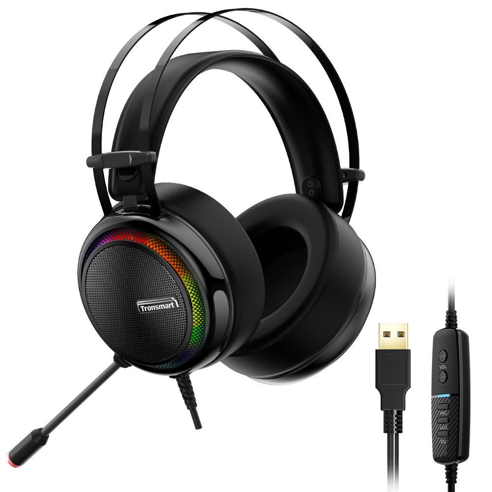 Tai nghe chuyên game Tronsmart Glary Headset 7.1 - Hàng Nhập Khẩu