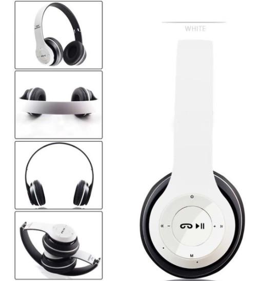 Tai Nghe Bluetooth 4.1 EDR, Mic Đàm Thoại, Chụp Tai AMITECH T3 - Hàng Chính Hãng