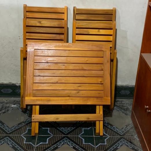Bộ bàn cafe mini 2 ghế