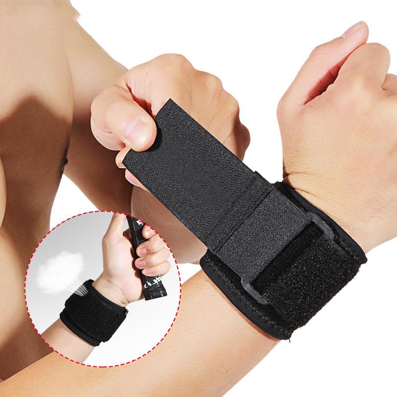 Combor 2 băng cổ tay thấm mồ hôi tập gym Bendu PK5102 cao cấp - Hai băng cổ tay thể thao