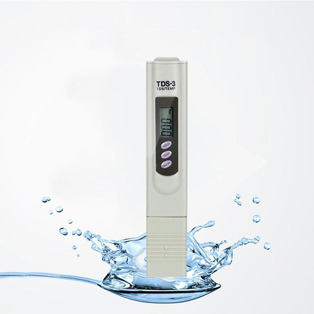 Máy kiểm tra chất lượng nước, bút thử nước sạch, Bút thử nước TDS -3 , 2Cao Cấp cho kết quả chính xác