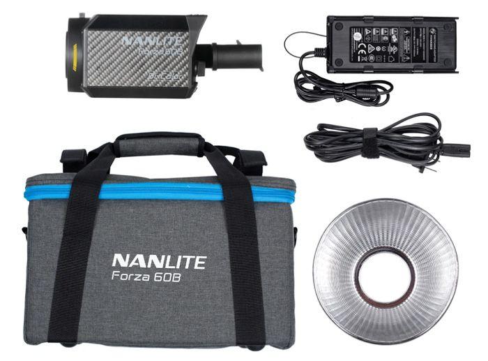 Đèn LED NanLite Forza 60B Bicolor hàng chính hãng.