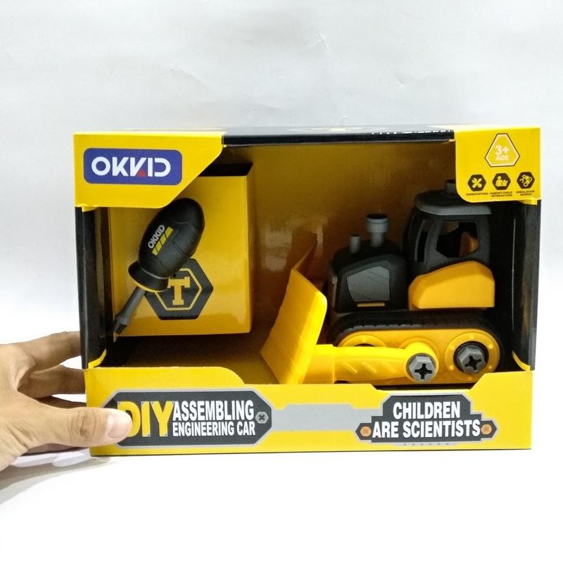 Đồ Chơi Xe Chuyên Dụng Okkid VBC-1005B/1006