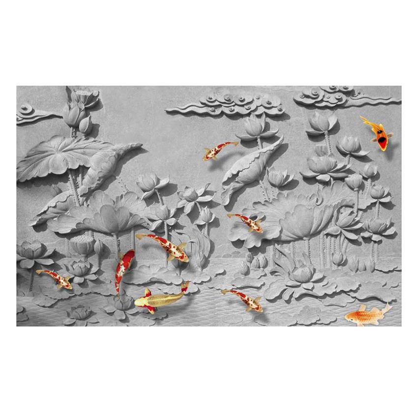 Tranh dán tường phong cảnh 3D 3DC486