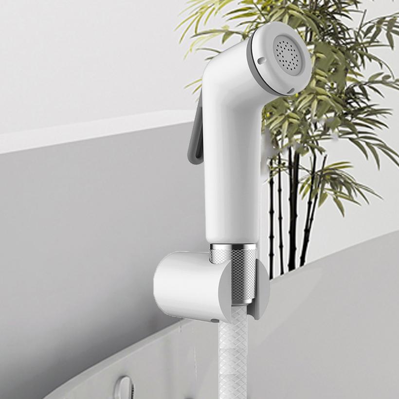 Vòi xịt toilet nhựa trắng 10324BI ICrolla - hàng chính hãng