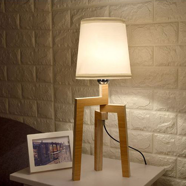 Đèn ngủ - đèn ngủ để bàn - đèn trang trí phòng ngủ - đèn ngủ decor HUMANS kèm bóng LED