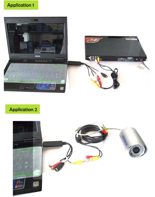 Cáp video capture từ AV, S-video ra Usb 2.0 cho máy tính, laptop