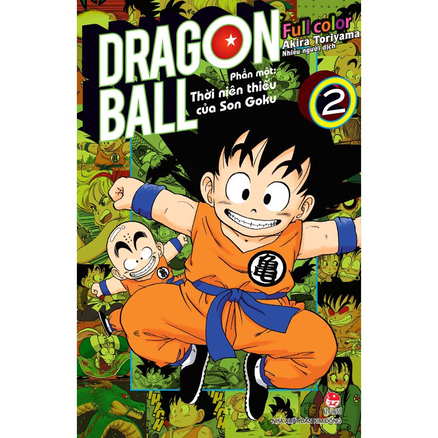Dragon Ball Full Color - Phần Một: Thời Niên Thiếu Của Son Goku - Tập 2