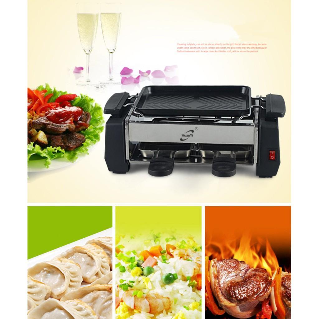 Bếp nướng áp chảo tiết kiệm điện kiểu nhà hàng Pháp
