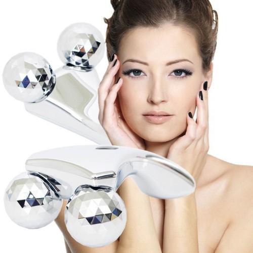 Con lăn massage mặt 3D chống lão hóa làm mịn da mặt