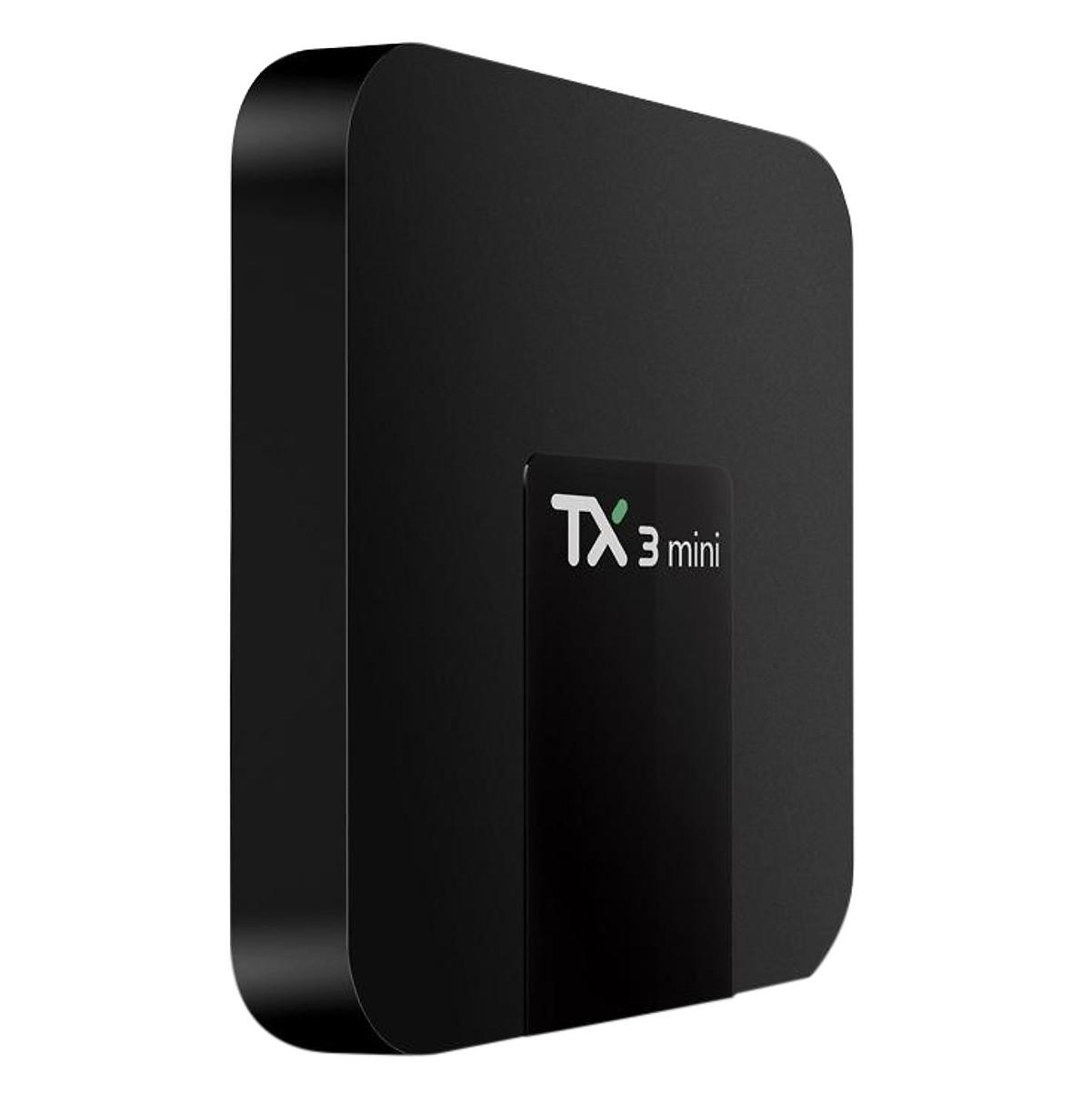 Androi TV Box Kiwivision TX3 MIni Ram 2G - ROM 16G Androi Mini 7.1 - Hàng chính hãng