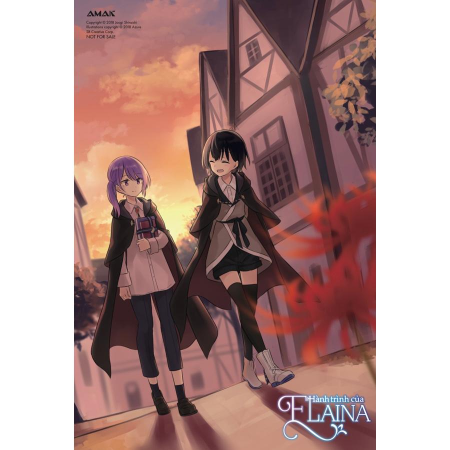 Hành Trình Của Elaina - Tập 9 (Tặng Kèm: Bookmark Bế Hình + Postcard)