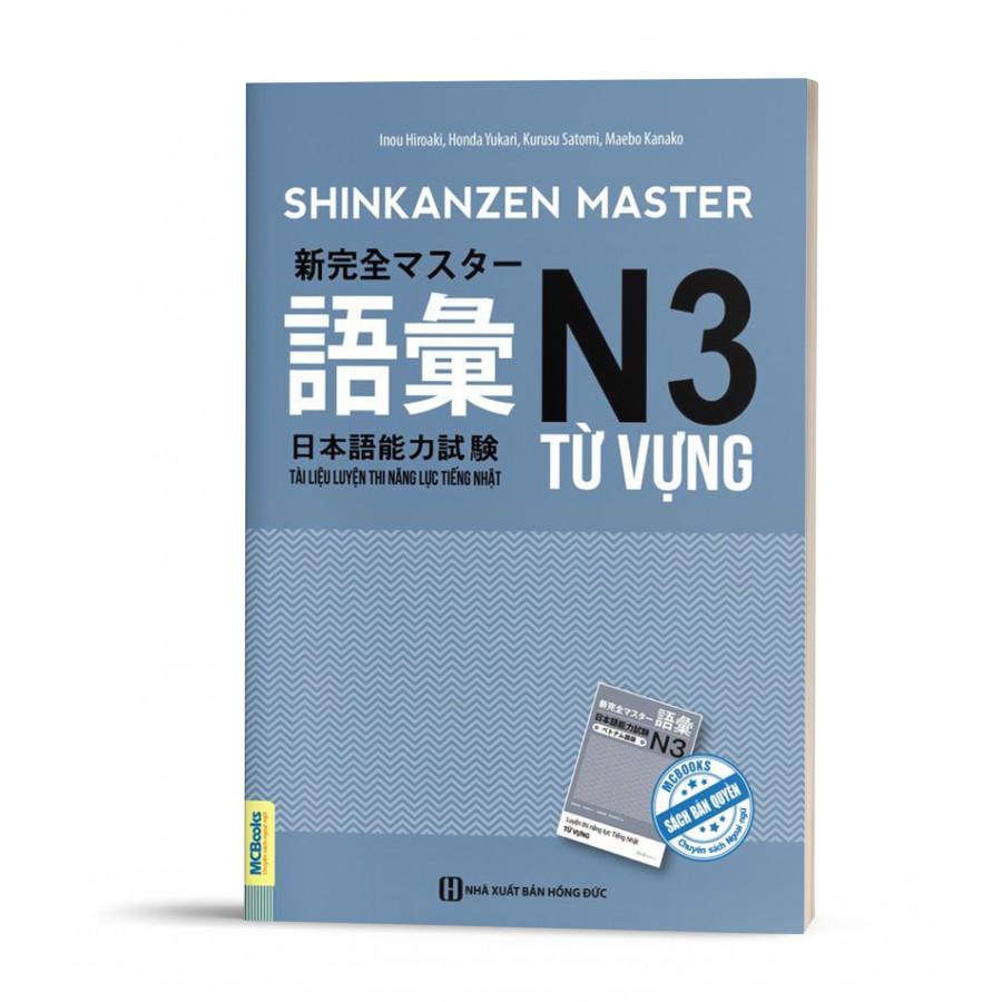 Sách Shinkanzen mastter N3 Từ Vựng
