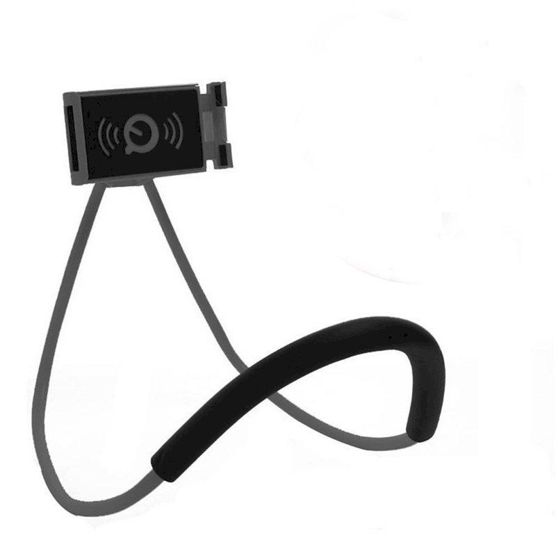 Giá đỡ kẹp lười đeo cổ đa năng dành cho điện thoại - Giao màu ngẫu nhiên