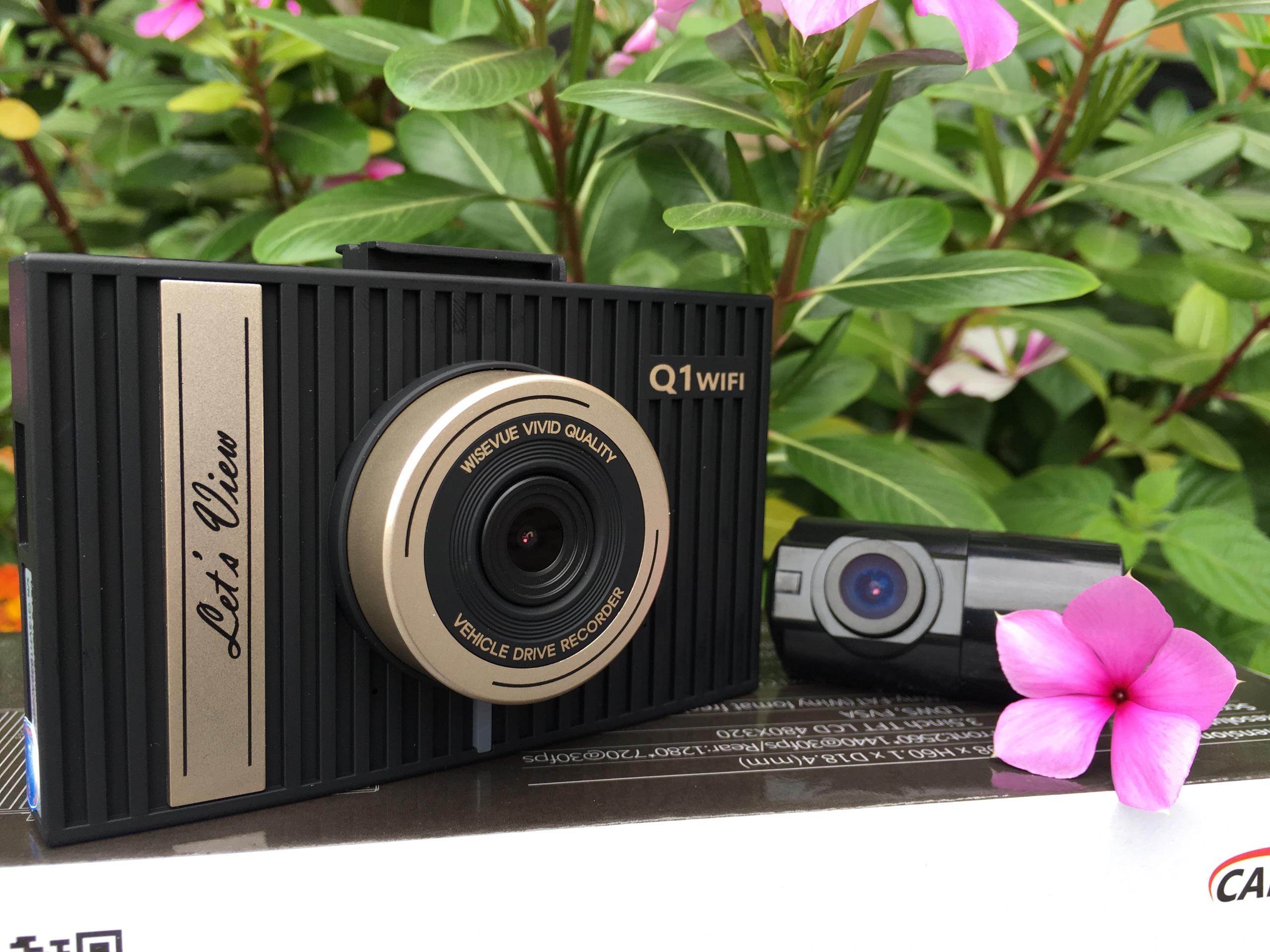 Camera hành trình Let's View Q1 WIFI - QHD - ADAS - Hàng chính hãng