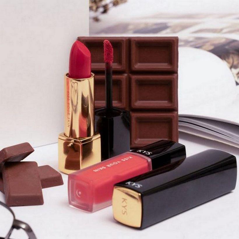Son lì KYS chocolate KYS Honey đỏ cherry – Cherry Rush