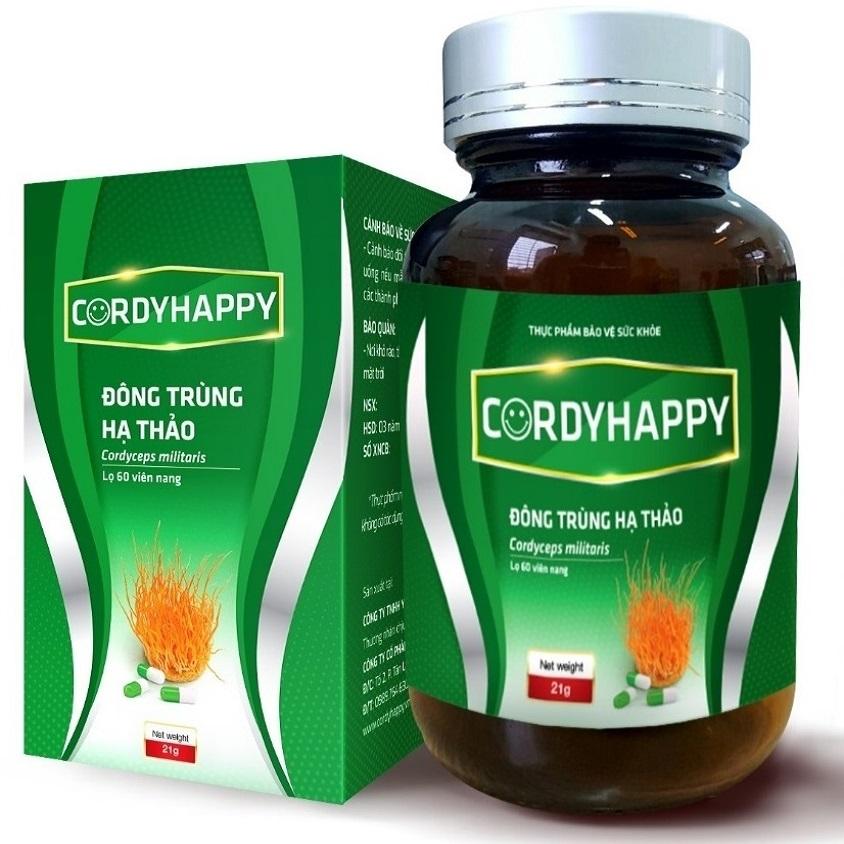 Thực phẩm chức năng - Viên nang Đông trùng Hạ thảo CordyHappy