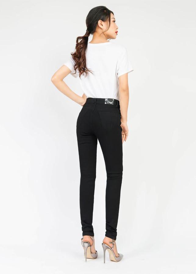 Quần jean nữ đen ôm 4