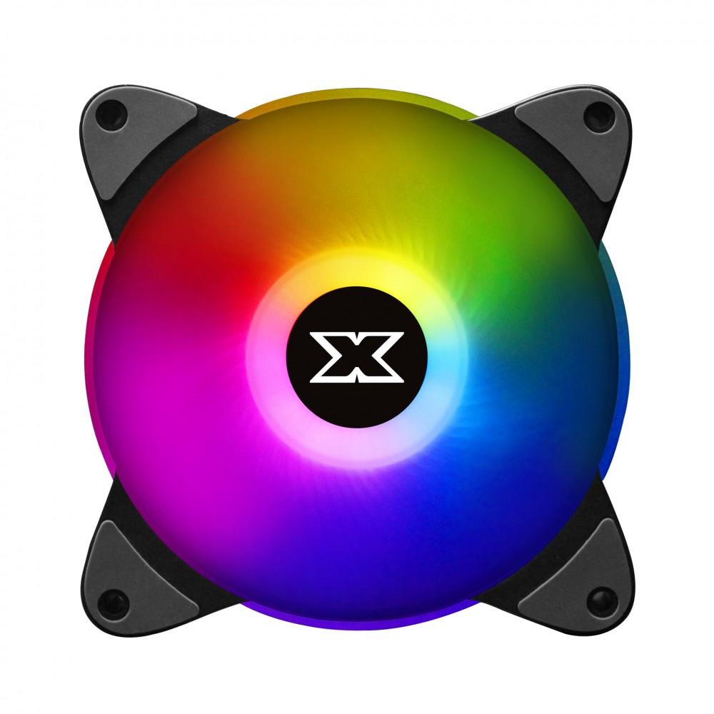XIGMATEK GALAXY III ESSENTIAL - BX120 ARGB (EN45433): HUB FAN (PACK x3, CONTROLLER, POWER HUB) - Hãng Chính Hãng