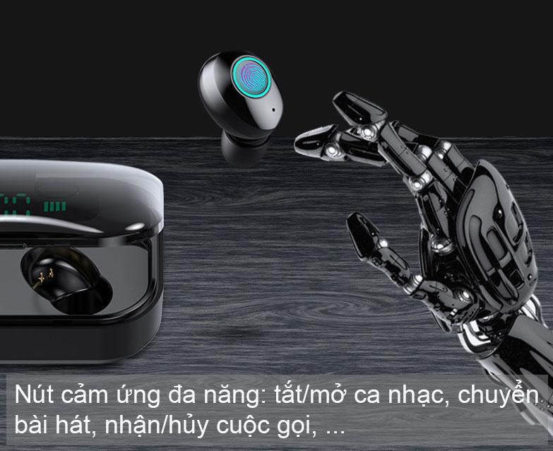 Tai nghe Bluetooth 5.0 Serial M7 - Cảm ứng chạm, Dock sạc LED