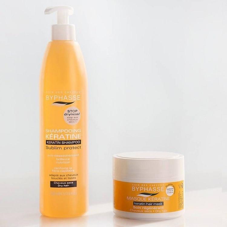 Combo dầu gội và ủ tóc karatin