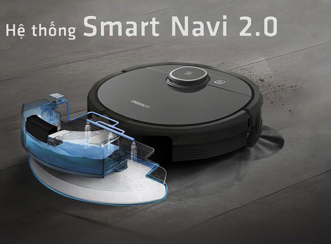 Robot hút bụi, lau nhà thông minh Ecovas T5 HERO (DX96)- Hàng chính hãng