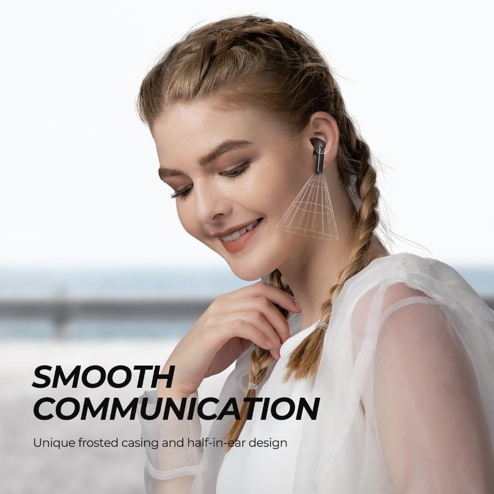 Tai Nghe True Wireless Earbuds SOUNDPEATS TrueAir 2 - Hỗ Trợ AptX/ Dual Mic/ Bluetooth 5.2 - Hàng Nhập Khẩu