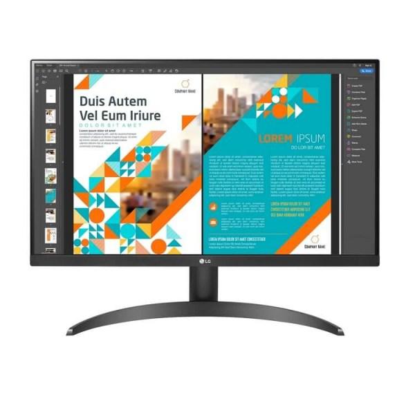 Màn hình LCD LG 24QP500-B 23.8 inch IPS 2K QHD - Hàng Chính Hãng