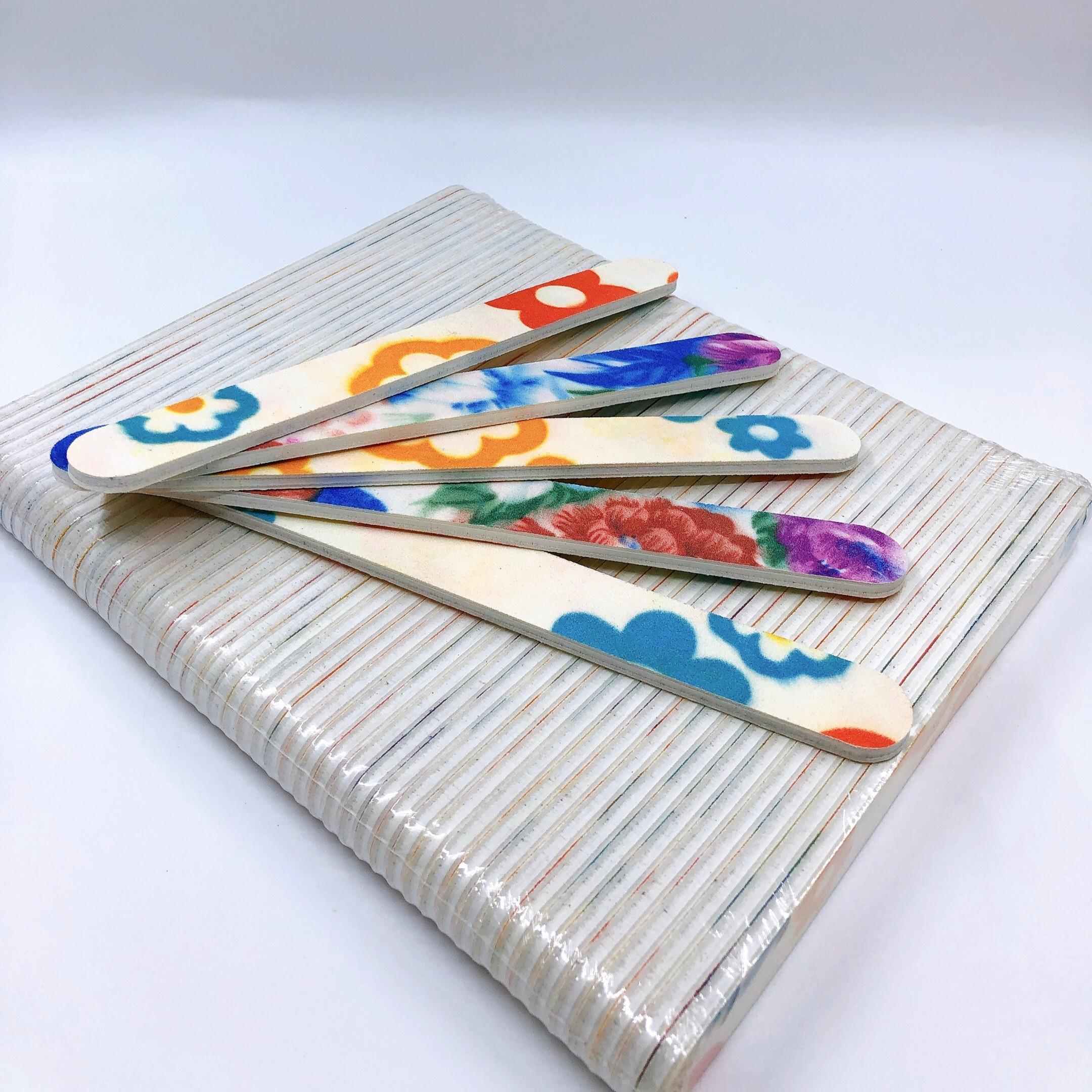Set 3 dũa móng tay nhám Hàn Quốc - độ nhám 120/120