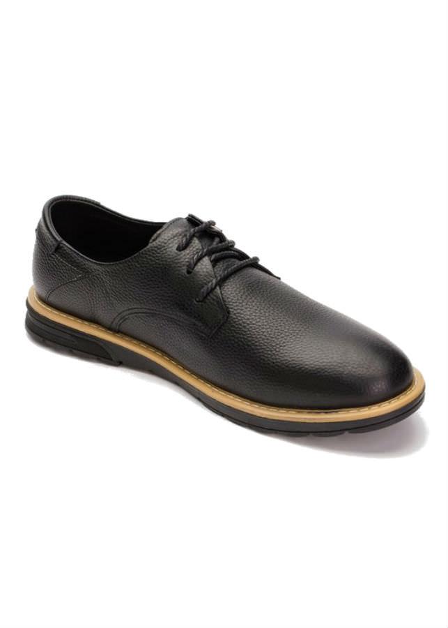 Giày Tây Nam Da Bò G097D - Đen