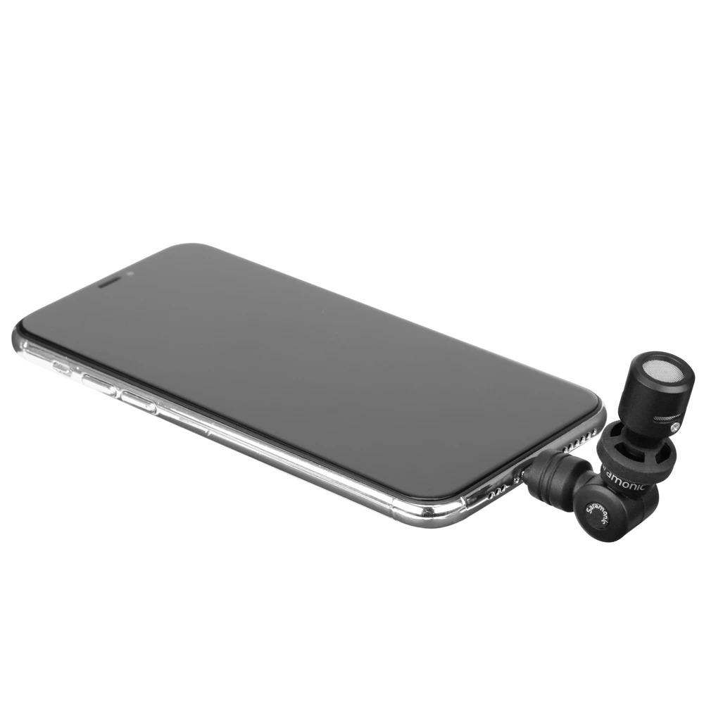 Micro Cho Điện Thoại, Máy Tính Bảng Apple, Chuẩn MFi, Giắc Cắm Lightning Saramonic Smartmic Di Mini - hàng chính hãng
