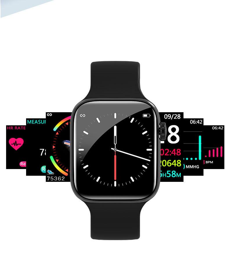 Đồng hồ thông minh cao cấp ANNCOE WATCH 5 Chống nước IP67 ( Pink )- Hàng Nhập Khẩu