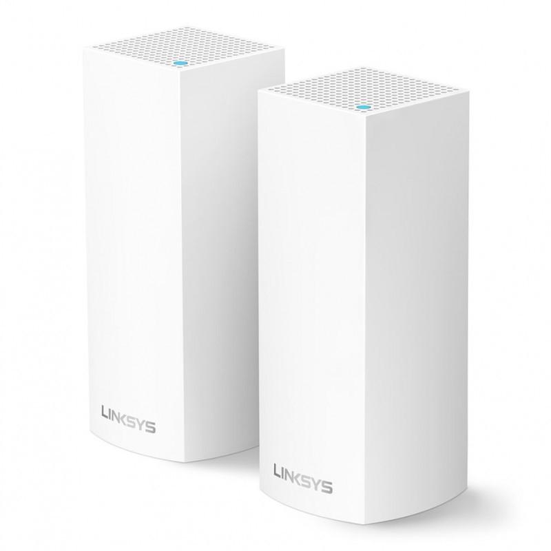Linksys Velop Intelligent Mesh WiFi System AC4400 MU-MIMO (2-Pack) WHW0302-AH - Hàng Chính Hãng