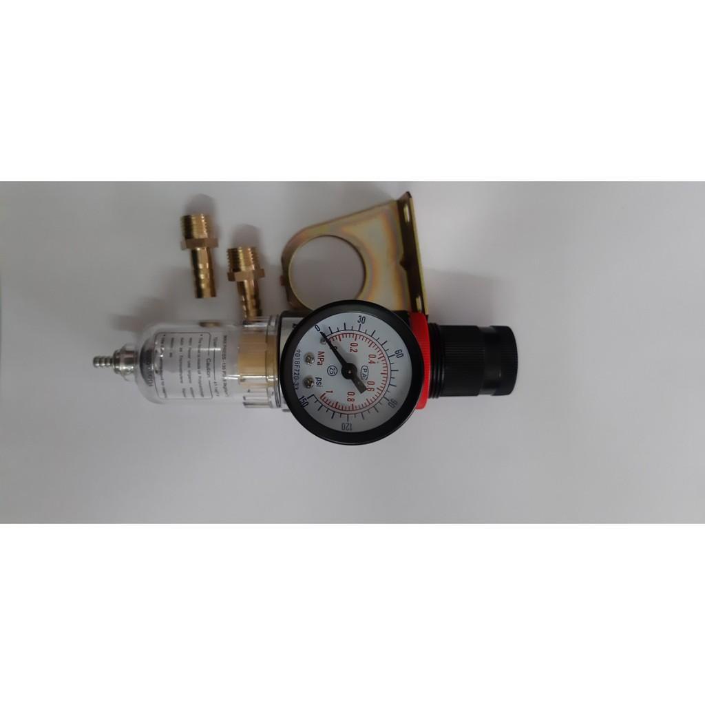 Đồng hồ lọc khí, tách nước điều áp cho máy cắt Plasma