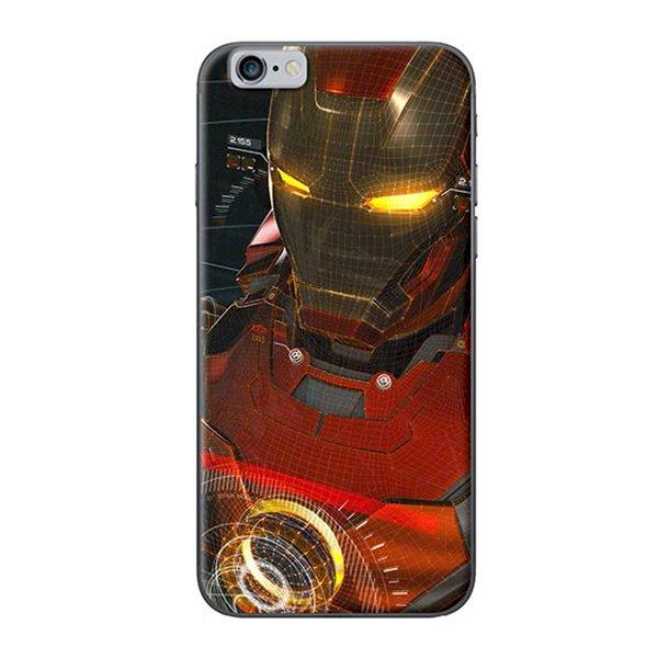 Ốp Lưng Dành Cho iPhone 6 Plus  6S Plus Ironman Giả Tưởng