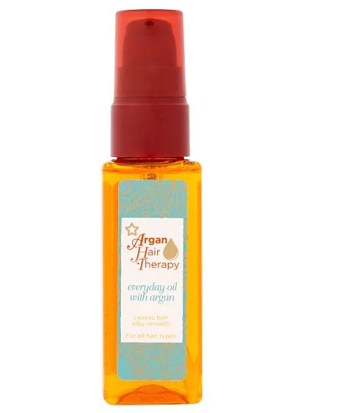 Dưỡng tóc Superdrug Argan Hair Therapy Everyday Oil With Argan 50ml