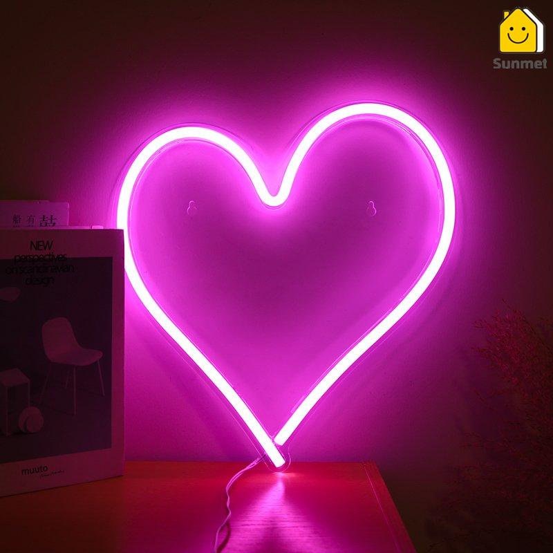 Đèn LED Neon Decor Phòng Ngủ - Thích Hợp Decor Quán Bar Chill, Tiệm Cà Phê, Nhà Hàng, Homestay